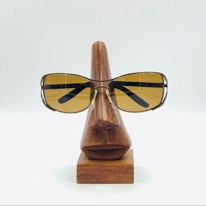 Tura Mod.010 Bronze Oval Sunglasses Frames